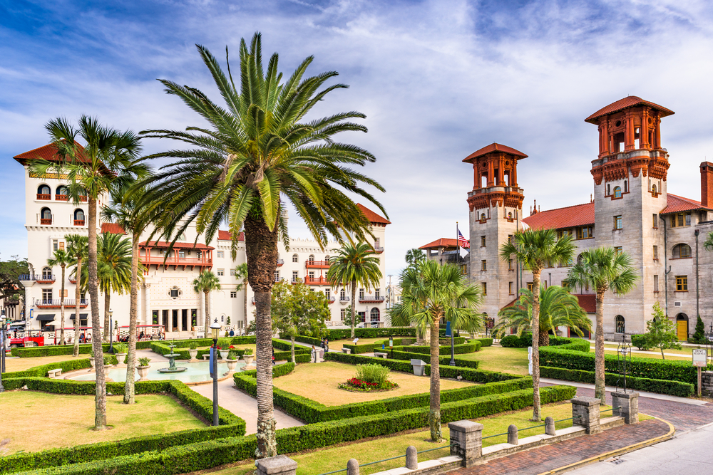 st-augustine-architecture-and-palm-trees
