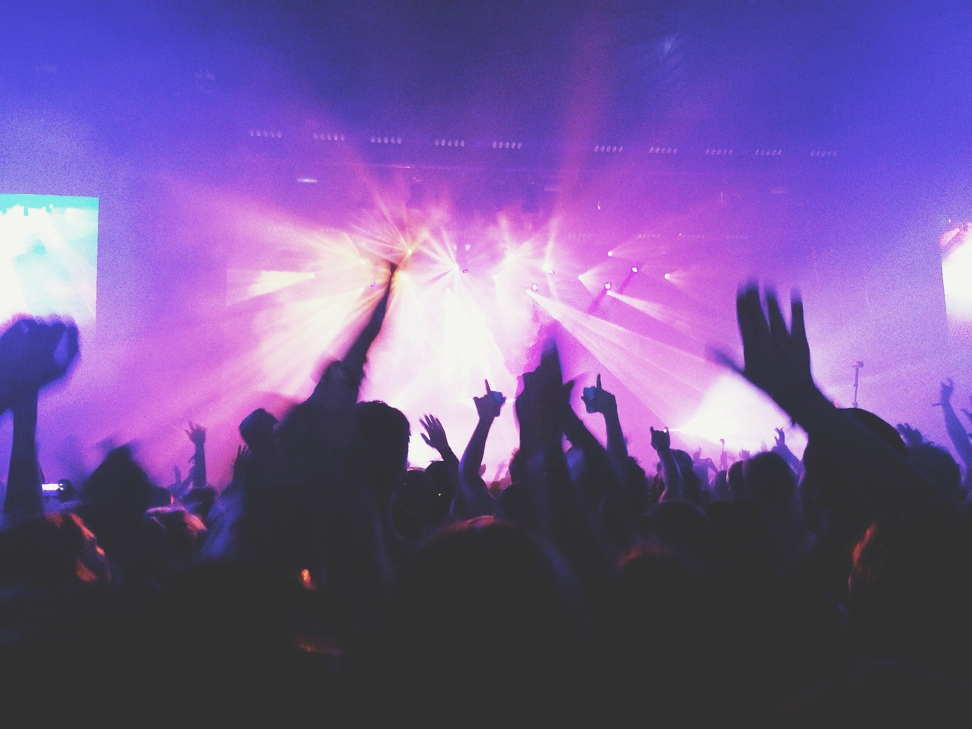 Concert, music, crowd