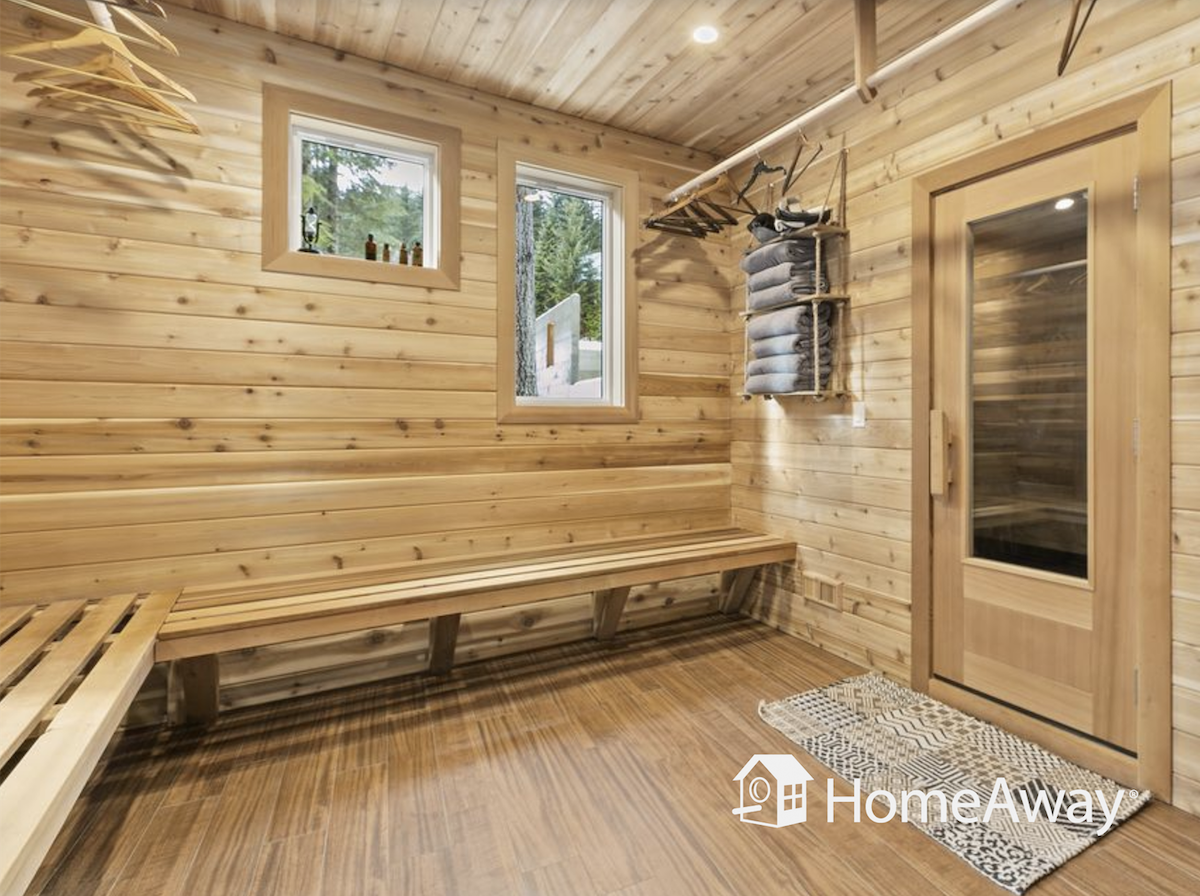 sauna-in-vacation-rental