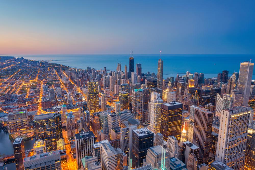 chicago-city-sunrise
