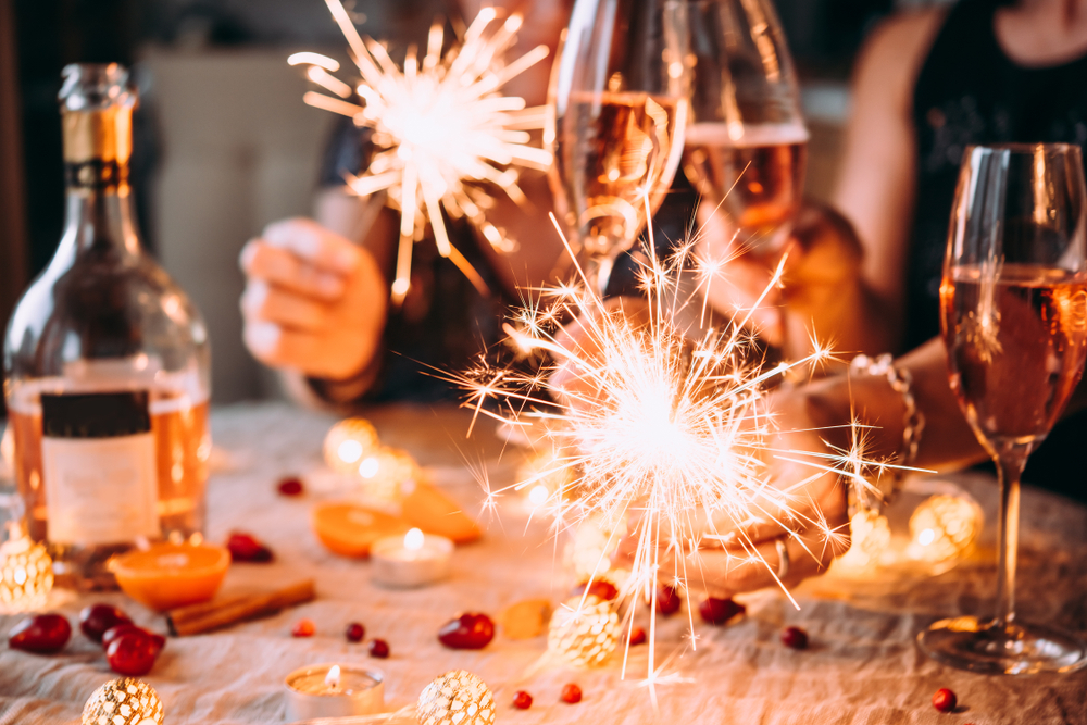 new-year-sparklers-and-champagne