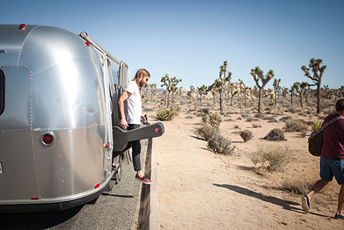 Outdoorsy Airstream Musician