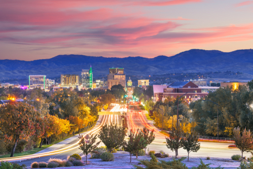 boise-idaho-downtown-twilight