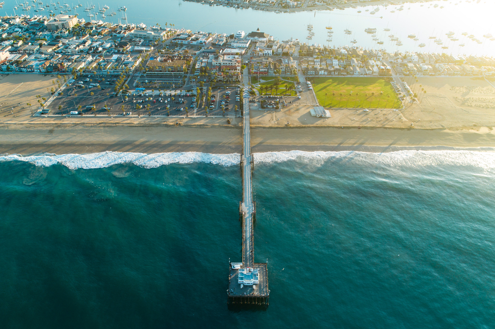 balboa-peninsula-newport-beach-aerial-view