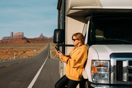 traveler-on-side-of-road